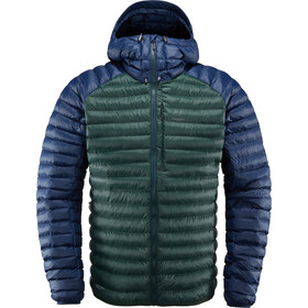 Haglöfs Essens Mimic Hooded Jacket Herren mineral/tarn blue